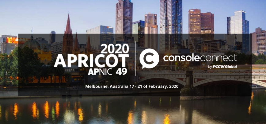 Console Connect at APRICOT APNIC 2020
