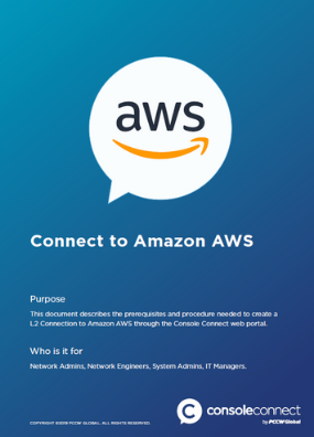 Console Connect How to Connect to AWS