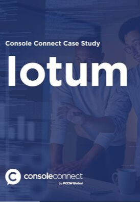 Console Connect case Study -iotum