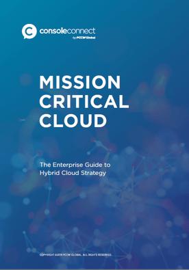Console Connect Mission Critical Cloud Guide