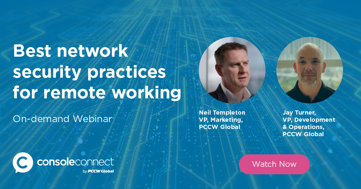 On-demand Webinar - Best Network Security Practices